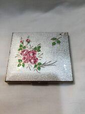 Vintage Genuine Schildkraut Cloisonne Ladies Cigarette Case