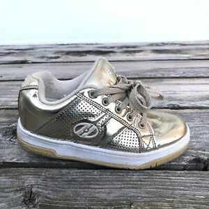 Heelys Gold Color Skate Shoes Youth 13C