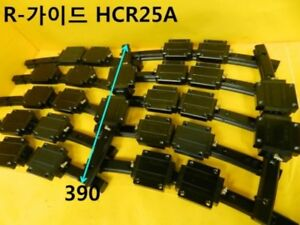 [Used] THK / HCR25A / LM ROUND GUIDE, Length:390mm, 2Block, 1pcs