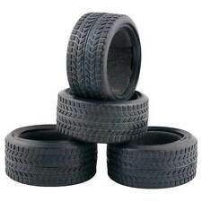 Racing Speed Rubber Sponge Tires Tyre For HSP 1:10 On-Road Car 6088 4pcs