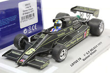 FLY 058103 LOTUS 78 JOHN PLAYER GP BELGICA 1977 GUNNAR NILSSON NEW 1/32 SLOT CAR