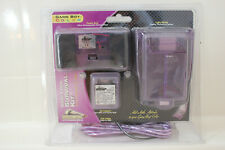 Pelican Cool Look SURVIVAL KIT Game Boy COLOR NEW! AC Charger Light Purple