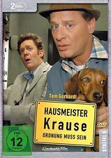 HAUSMEISTER KRAUSE STAFFEL 6 Tom Gerhardt,Irene Schwarz, Janine Kunze 2 DVD NEU