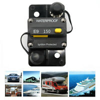 150Amp  Manual Reset Circuit Breaker for Car Auto Marine Stereo Audio Fuse Q0Y2