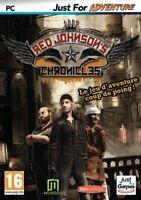 RED JOHNSON'S CHRONICLES JEU D'AVENTURE COUP DE POING WINDOWS XP/VISTA/7/8