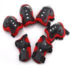 6Pcs Kids Roller Skating Protective Gear Set Knee Pads Elbow Pads Wrist Guards