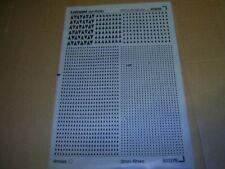 LETRASET SYMBOLS S13275 ARROWS 3mm - 12mm Unused Sheet ***FREE UK POST***
