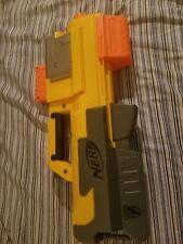 NERF Deploy N-Strike CS-6 Clip Dart Gun Toy Blaster Tactical Light Yellow Tested