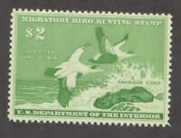 US Sc RW24 1957Duck Stamp VF MNH