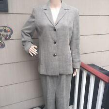 Liz Claiborne Size 10 Tweed Pant Suit