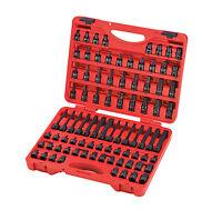 Sunex 3569 Tools 84-piece 3/8 In. Drive Master Hex Bit Impact Socket Set