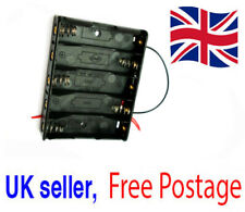 Case to fit 5x AA 7.5V Battery Holder Box with Wire Leads Genuine UK Seller *