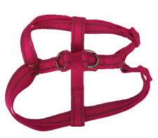 Boots & Barkley Reflective Step In Dog Harness Adjustable Pink MEDIUM