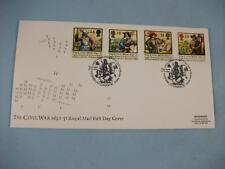 Civil War 1642-51, Royal Mail FDI Stamp cover, Barbican London EC H/S 16 June 92