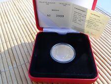 Monaco 2008 pièce de 5€ en argent Albert II Prince de Monaco