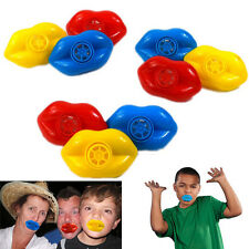 Dazzling Toys Plastic Lip Whistles 2 Dozen Assorted Colors Fun Gift Party Favors
