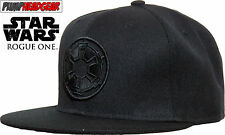 Star Wars Rogue One Empire All Black Snapback Cap