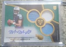 2015 Triple Threads Marcus Mariota GOLD JERSEY PATCH AUTO RC SP 01/50 EBAY 1/1