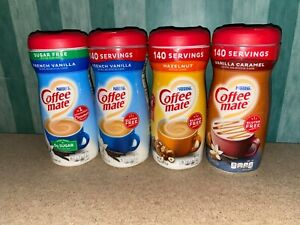 Coffee Mate Powder Coffee Creamer RARE USA Flavours - Choose your own