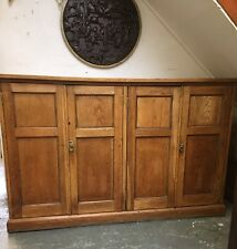 VERY RARE Antique Oak School Housekeepers Larder Pantry Kitchen cupboard