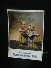 "Goebel Hummel Kalender Calendar 1983, Titelbild ""Hausmusik, Kinderpaar"""