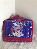 Pink Purple Unicorn smiggle stationary set.  Smiggle felt Tips Bag Present A