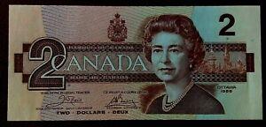 CANADA $2 DOLLARS BANKNOTES - 1986 -*PREFIX ARR*  -NOTES X 1