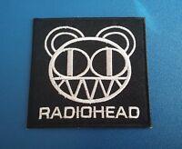 PUNK ROCK HEAVY METAL MUSIC SEW / IRON ON PATCH:- RADIOHEAD KID A BLINKYBEAR