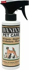 Banixx Pet Care for Dog Ear Infections Hot Spots Ringworm Itchy Skin Skin 8 oz