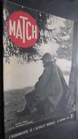 Revista Match Noviembre 1939 Soldado Suisse a La Frontera Alemana ABE