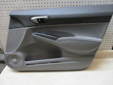 2006-2008 HONDA CIVIC RIGHT RH PASSENGER FRONT INTERIOR DOOR TRIM PANEL OEM