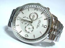 Anne Klein New York Watch * 1975SVSB Swiss Oversized Silver Steel COD PayPal