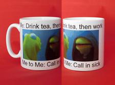 Evil Inner Kermit the Frog Meme 10oz Mug Internet Tumblr Reddit Funny