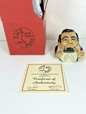 Kevin Francis Face Pots President Abraham Lincoln - COA Signed