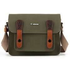 Genuine Canon Pocket Shoulder Bag Case 6520 for D-slr RF Lens EOS Khaki