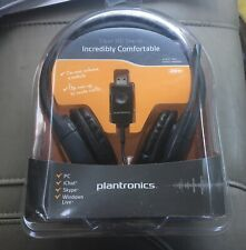 Audio 655 USB Stereo Headset by Plantronics - High Definition - Black - New