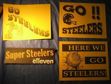 STEELERS  '96 AND '97  ADVERTISING