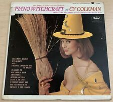 CY COLEMAN Piano Witchcraft (1963) LP Capitol JAZZ Easy Listening