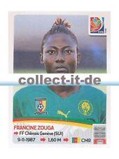 Panini Frauen WM World Cup 2015  - Sticker 221 - Francine Zouga