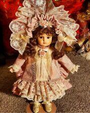 Maryse Nicole Victorian Antique Reproduction Porcelain Doll Vintage R A Stiener