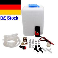 12V Universal  Auto Scheibenwaschflasche Scheibenwaschanlage Kit Motorpumpe