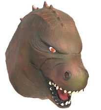 Latex Jurassic Dinosaur Mask Fancy Dress Fancy Dress Halloween Godzilla Monster