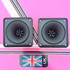 (Pair) Square Horn Piezo Tweeters 88mm x 88mm disco speaker replacement