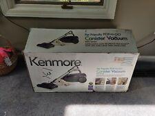 Kenmore 81614 600 Series Bagged Canister Vacuum w/ Pet PowerMate - Purple