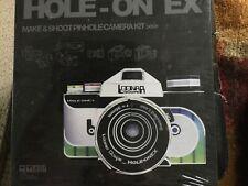 Loonar Goupe Hole On Ex Paper DIY Make & Shoot Pinhole Camera Kit Uses 35mm Film