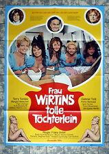 FRAU WIRTINS tolle Töchterlein * A1-FILMPOSTER - German 1-Sheet´69 KULT EROTIK