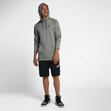 Nike Jordan Sportswear Wings Lite Men's Pullover Hoodie XL Gray Casual Gym New