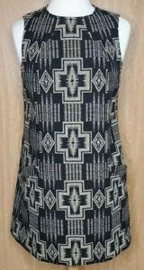 Pendleton Portland Collection EUC Fully Lined Aztec Print Shift Dress L Read