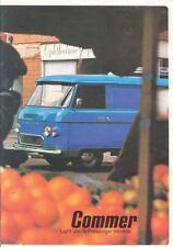 1973 Commer SpaceAce Van Pickup Camper Caravan Brochure wl7398-IUROKW