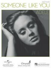 Someone Like You Sheet Music Easy Piano Adele NEW 000110174